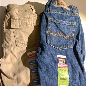 Pair of Wrangler pants